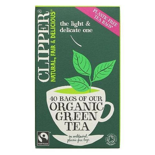 Clipper - Organic Fairtrade Pure Green Teabags x 40