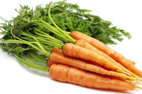 Bunch of Carrots with tops