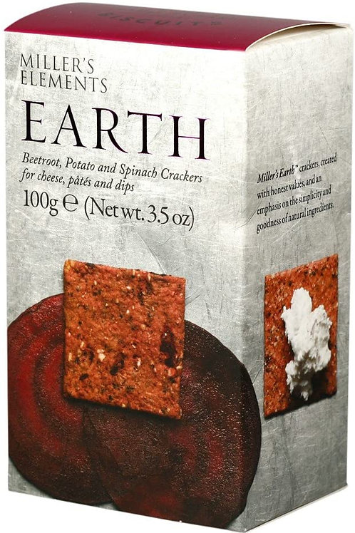 Miller's Elements Earth Crackers 100g