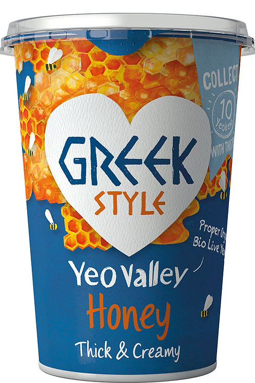 Yeo Valley Greek Style with Honey 450g