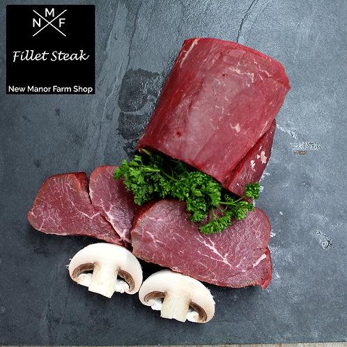 Fillet Steaks x2 Dry aged 8oz's