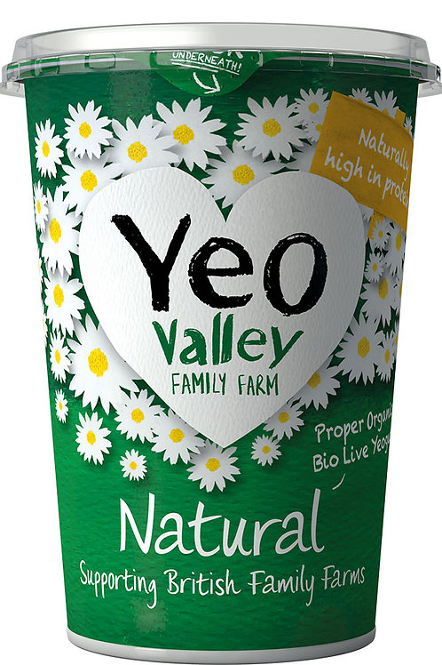 Yeo Valley Natural Yoghurt 500g
