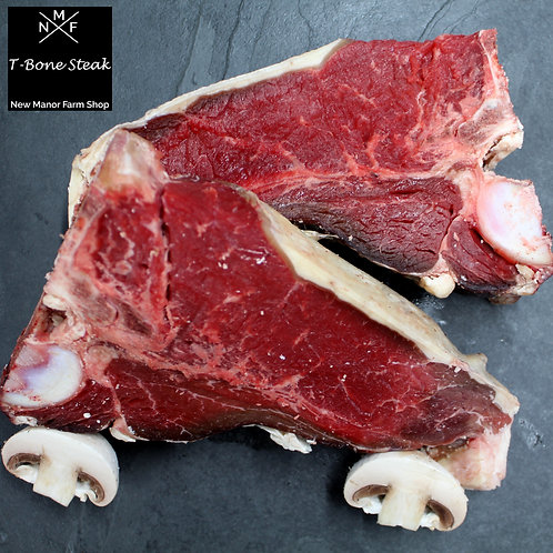 T Bone Steak - 1 Dry Aged 16oz