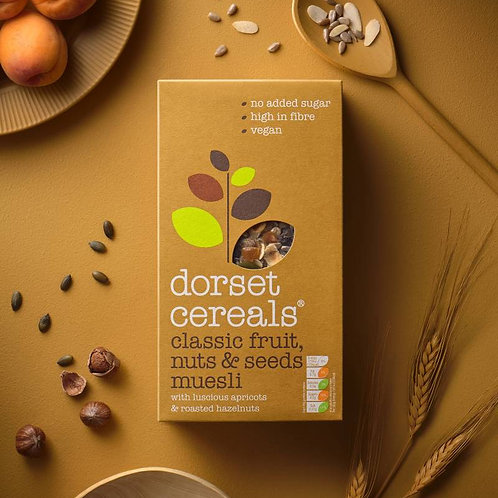 classic fruits, nuts and seeds muesli 600g