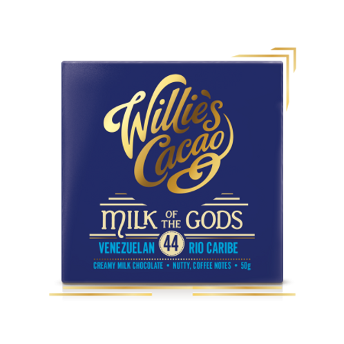 Willie's Cacao - Milk of the Gods Rio Caribe 44 Intense Milk Chocolate 50g