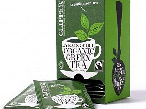 Clipper Organic Green Tea - 25 bags