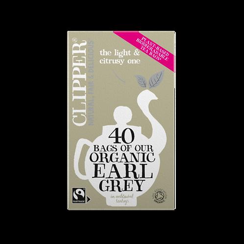 Clipper - Fairtrade Organic Earl Grey Teabags x 40