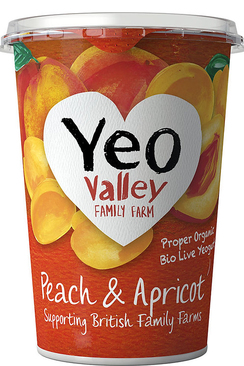 Yeo Valley Peach & Apricot 450g