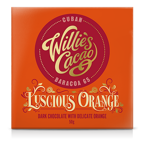 WILLIE'S CACAO Luscious Orange Cuban