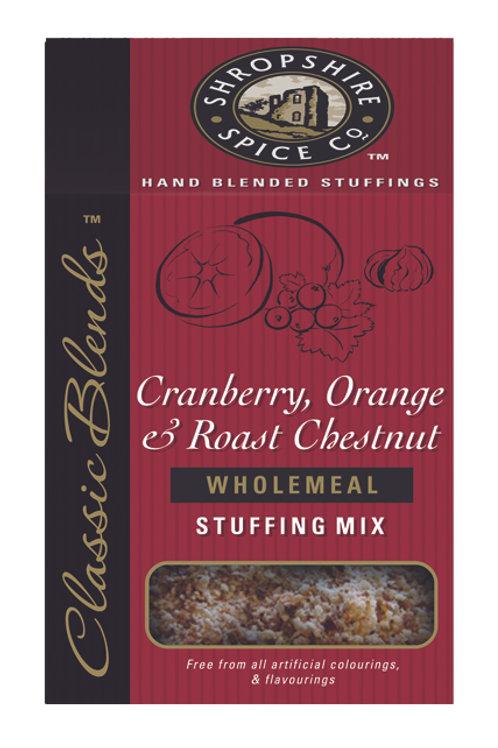 Cranberry, Orange & Roast Chestnut Wholemeal Stuffing Mix