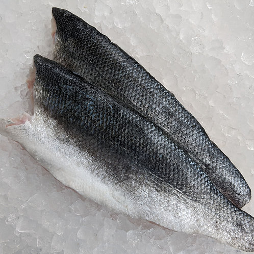 2 Fillets of Sea Bass (approx 280g)