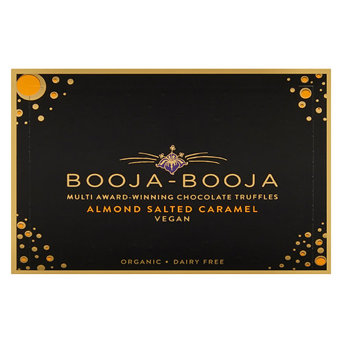 Booja-Booja Almond Salted Caramel (Pack of 8, 92g)