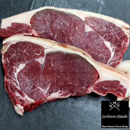 Sirloin Steak - x2 Dry aged 8oz's
