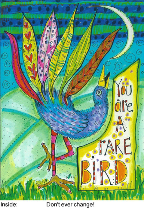 You are a rare bird - #nd-239