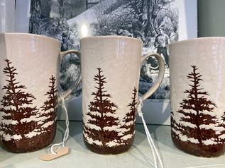 Pine Tree Mugs