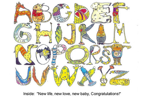 Animal Alphabet - #nd-128