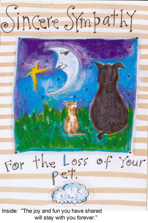 Sympathy for the loss of your pet -#nd-108