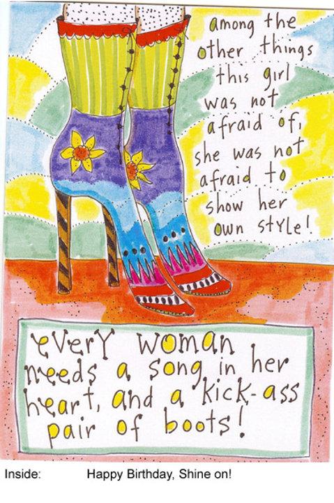 A kick-ass pair of boots - #nd-145