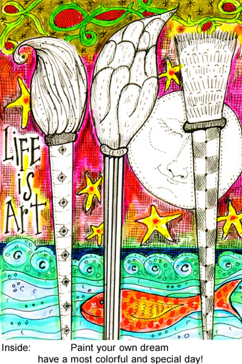 Life is art - #nd-231