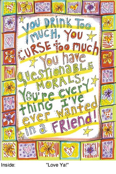 You're every thing I've ever wanted in a friend - #nd-263
