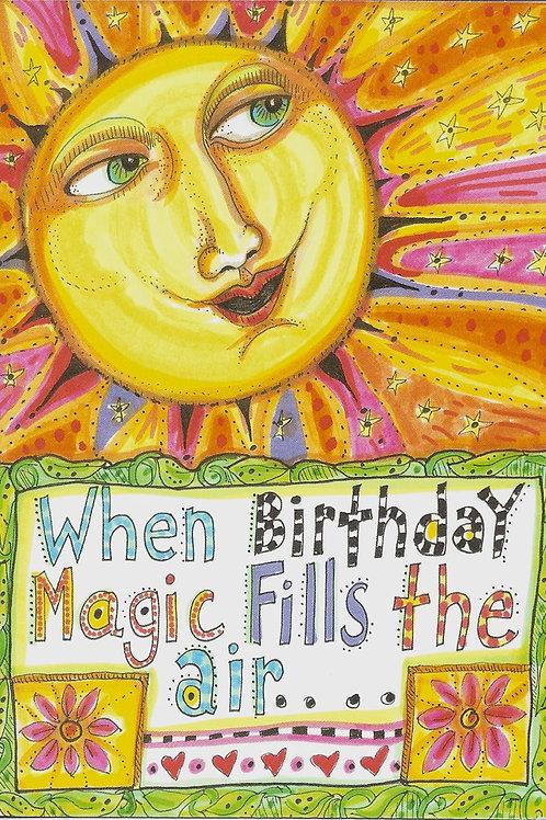 Birthday magic - #nd-307