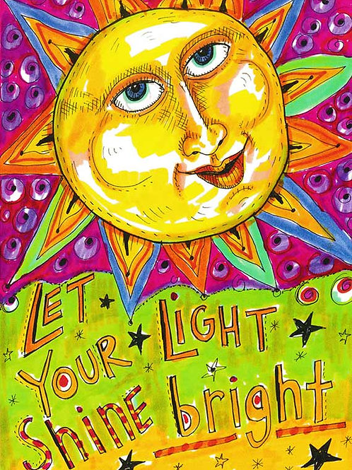Let Your Light Shine - #nd-321