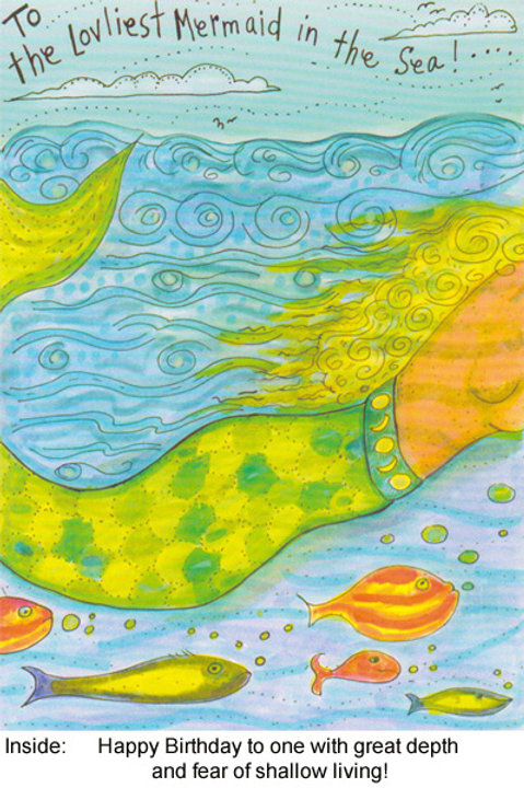 The loveliest mermaid in the sea - #nd-222