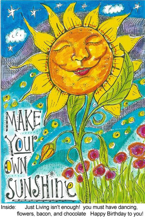 Make your own sunshine - #nd-234