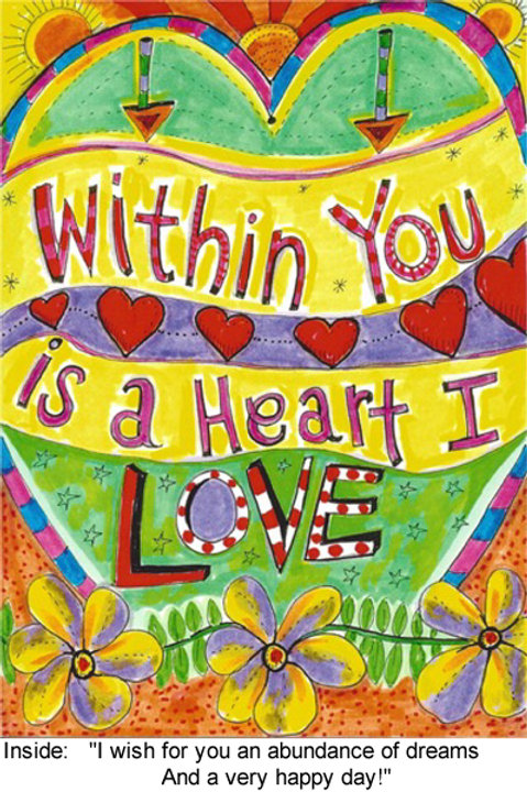 Within you is a heart I love - #nd-279