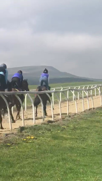Cantering up the Low Moor all weather 7f