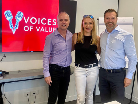 VOICES OF VALUE PODCAST - Finding Strength with Susan Berg