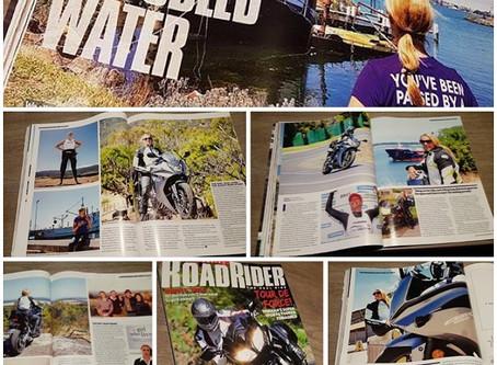 Australian Road Rider / 9-page spread  April 2017
