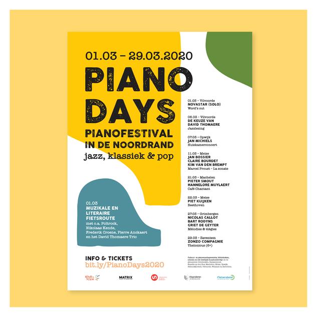Piano Days Affiche