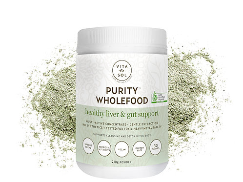 PURITY WHOLEFOOD - HEALTHY LIVER & GUT SUPPORT