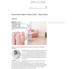 Spa + Clinic x Face by SM