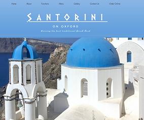 Santorini on Oxford website