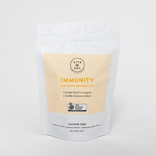 IMMUNITY CERTIFIED ORGANIC TEA 50g