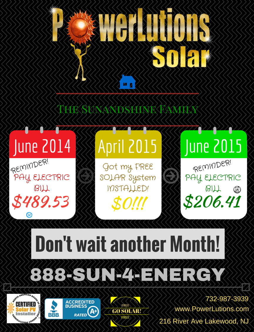 Free Solar in New Jersey