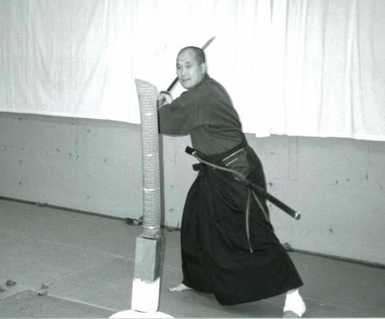 Tameshigiri Iaido Katana 2015-5-18-22:2:15