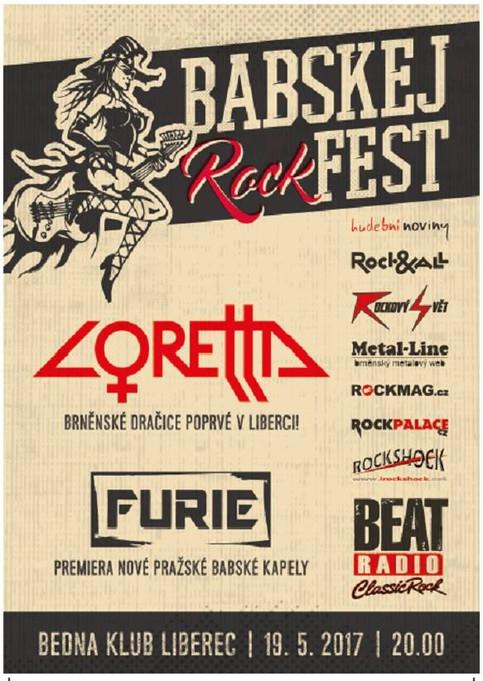 Babskej Rockfest se přesunuje do Liberce