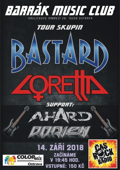 Podzimní tour s Bastardem