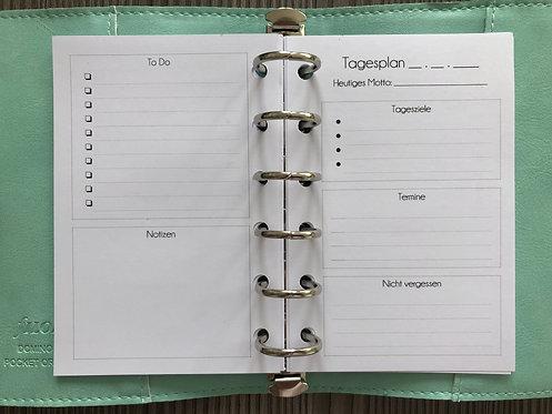 Tagesplan Pocket