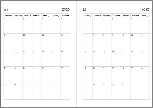 Datei: Monat auf 1 Seite A5 2022