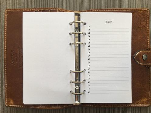 Checklisten für die Zonen Personal