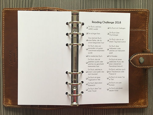 Reading Challenge Personal