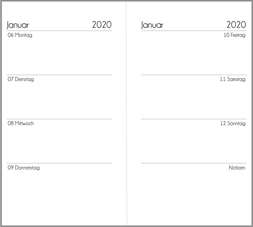 Datei: Woche auf 2 Seiten Personal 2021 / 2022