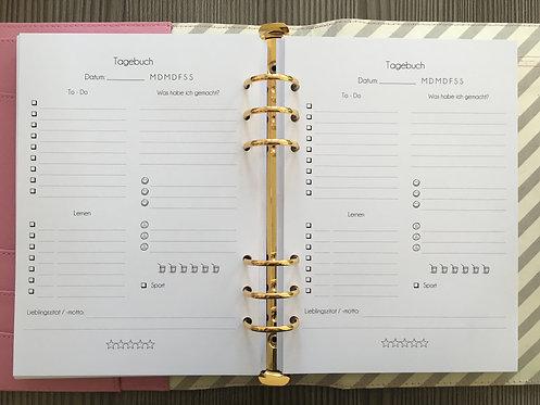 Tagebuchseite A5