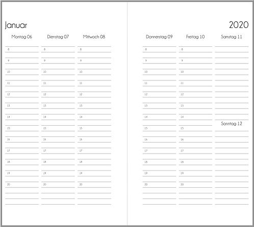 Datei: Woche auf 2 Seiten vertikal Personal