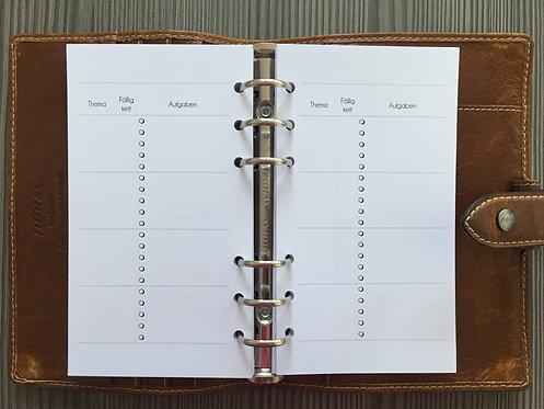 Projektplanung Personal