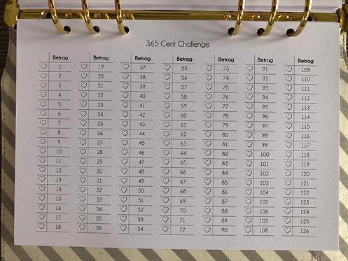 365 Cent Challenge A5